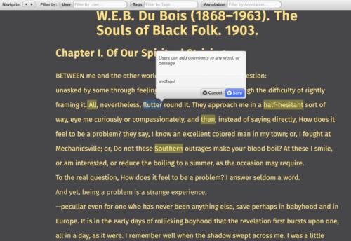 Living Text Annotations Framework (Beta)